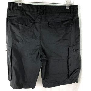 Nike Shorts - Nike 32 Gray Woven Performance Shorts Cargo